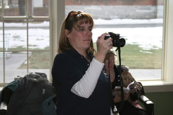 Melissa Dodge - taking pictures... as usual!