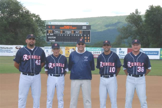 2007 Rebels Coaches and President/General Manager