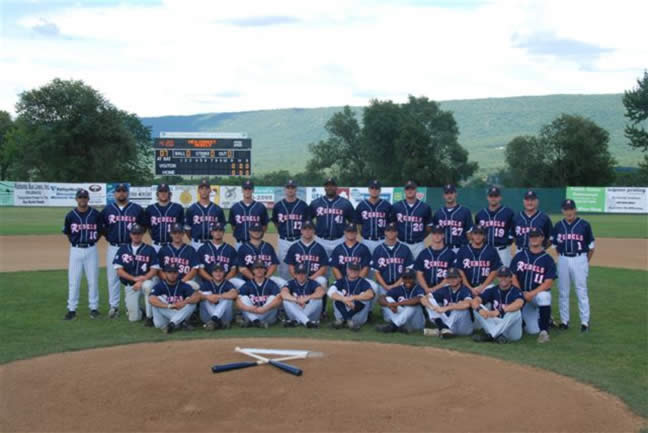 2007 New Market Rebels Team Photo